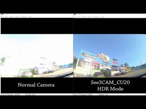 See3CAM_CU20 Demo: High Dynamic Range (HDR) USB camera