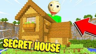 Minecraft : I FOUND BALDIS *SECRET* HOUSE! (Ps3/Xbox360/PS4/XboxOne/PE/MCPE)