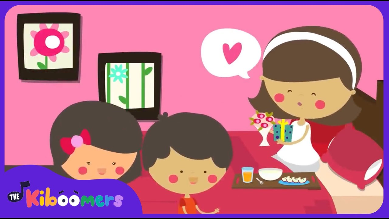 I Love You Mommy Mothers Day Song For Kids Happy Mothers Day Song The Kiboomers Youtube