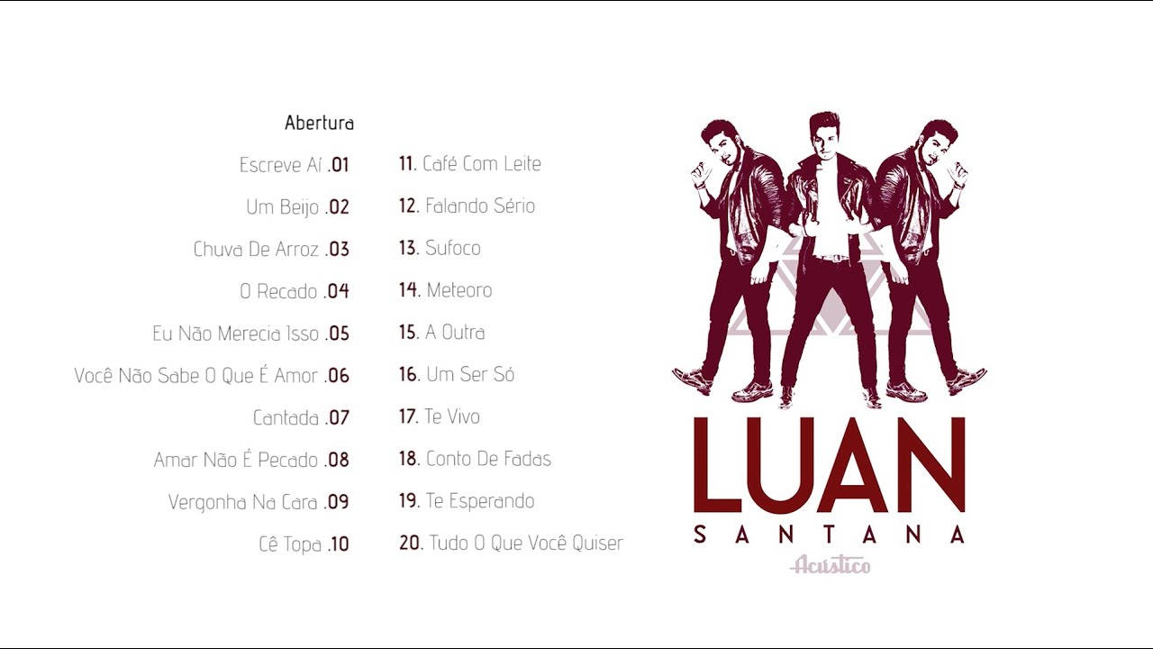 Luan Santana - DVD Acústico Completo - YouTube