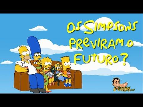 NÃO! Os Simpsons NÃO previram o futuro?