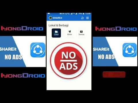 SHAREit Mod v4 7 18 Apk Terbaru Tanpa Iklan (NO ADS) - YouTube