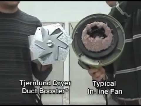 tjernlund lb1 dryer booster fan lint contest
