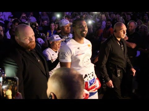 IS THIS THE LAST TIME WE WILL SEE DAVID HAYE'S 'AINT NO STOPPING US NOW' RING-WALK?