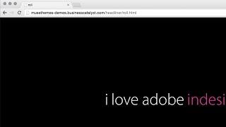Headliner Widget - Adobe Muse CC | Tutorial by MuseThemes.com