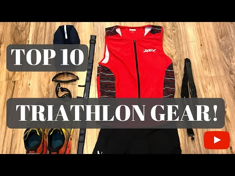 Top 10 Gear Review: Must Have Triathlon Gear!