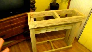 20 Gallon Long Part 2 : Building The Stand