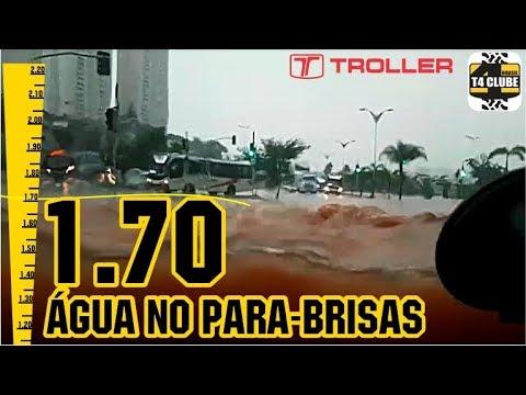 Enchente em São Paulo - Troller T4 Clube 28/03/2018