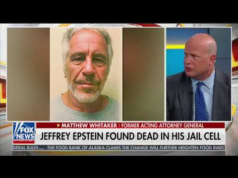 'Something doesn't add up': Former acting AG Whitaker on Epstein's death