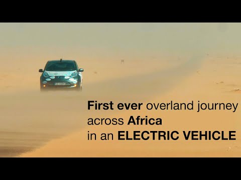 Across AFRICA in a 100% ELECTRIC VEHICLE. A journey from socket to socket.
