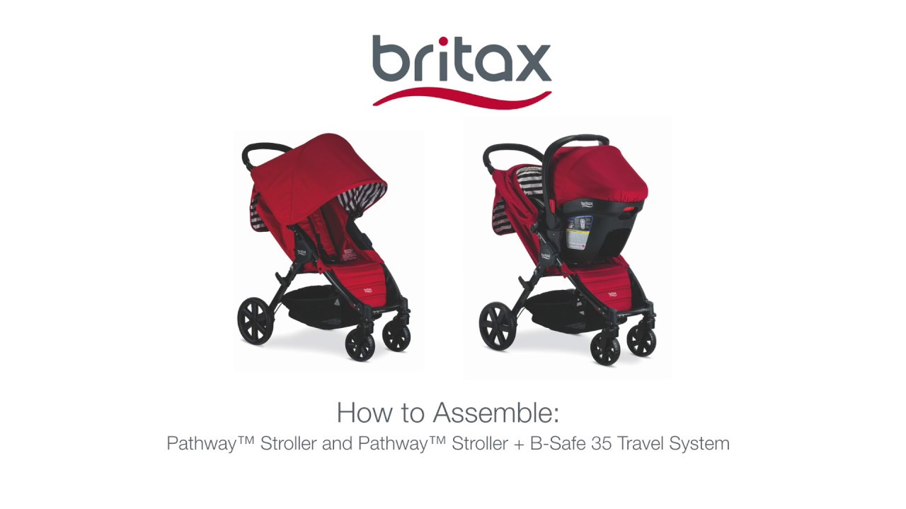 Britax Pathway /& B-Safe 35 Travel System Crew
