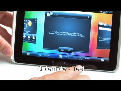 HTC Flyer - Test (HD, 720p)