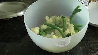 Сочный стейк с овощами альденте