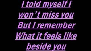 Hinder-Better than me lyrics