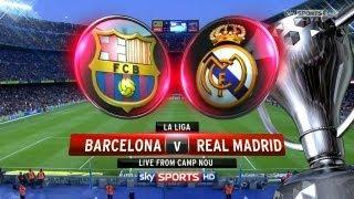 FIFA 13: Comentaristas ESPN Barcelona vs Real Madrid - Clasico Español - Fecha 7 2012