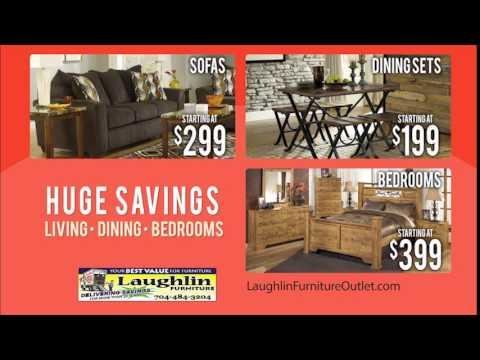 Everyday Is Black Friday At Laughlin Furniture   Duration: 44 Seconds.
