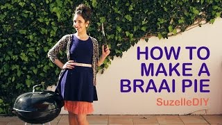 كيفية جعل فطيرة Braai