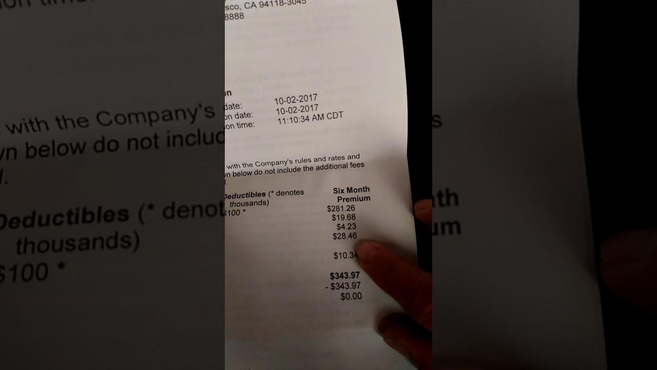 state farm binder for state farm automobile insurance car insurance company also cheats me