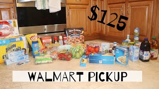 GROCERY HAUL | WALMART PICK UP | Vlogtober Day 18