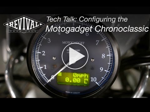 Configuring the Motogadget Chronoclassic - Revival Cycles Tech Talk