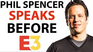 Phil Spencer of Xbox Speaks BEFORE E3 | Gears
