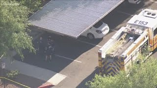 1-year-old dies after being left in hot car, Glendale police say