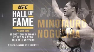 Minotauro Nogueira: Hall of Fame Induction Ceremony