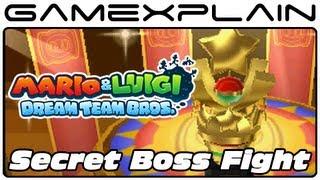 Repeat youtube video Mario & Luigi: Dream Team - Secret Boss Fight