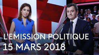L'Emission politique du 15 mars 2018 - Gérald Darmanin (France 2)