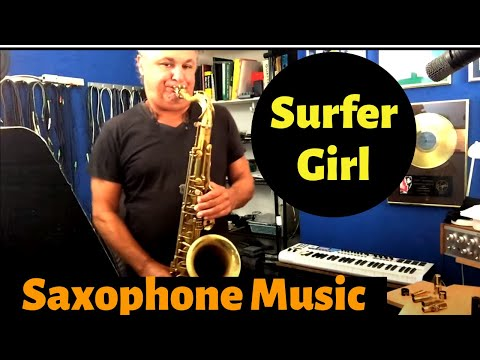 Surfer Girl - Download This Easy Music for Saxophone Including the Backing Track