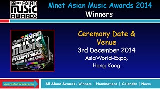 Winners of MNET Asia Music Awards 2014