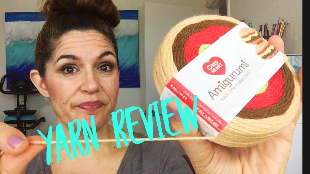 New Red Heart Amigurumi yarn - YouTube | 720x1280
