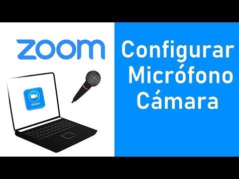 Configurar Micrófono Y Camara En Zoom