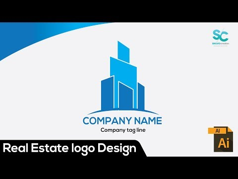 Real Estate logo Design Tutorial