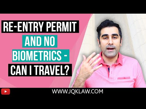 Re-Entry Permit Case Without Biometrics, Can I Travel?