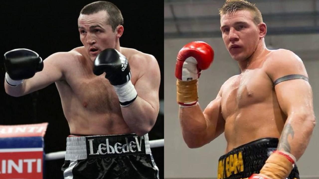 Image result for Denis Lebedev vs Mark Flanagan live fight pic logo