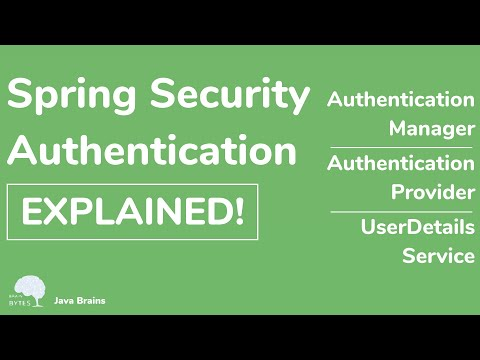 How Spring Security Authentication works - Java Brains thumbnail