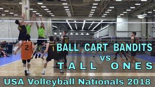 Backyard Bandits vs Tall Ones (Day 1, Match 3) - USAV Nationals 2018 Volleyball Tournament