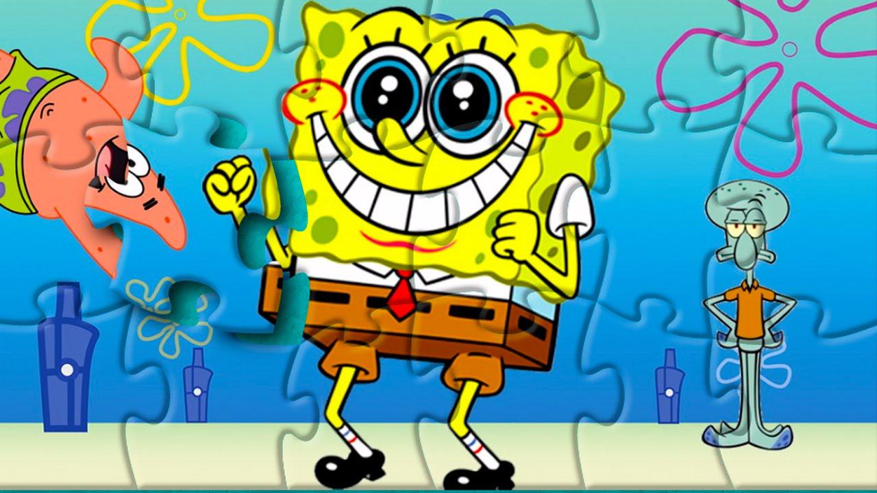 Rompecabeza Bob Esponja | SpongeBob Puzzle Game For Kids ...