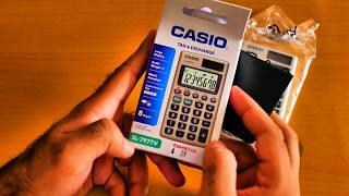 Casio SL-797TV Calculator Unboxing & Review