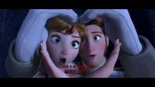 Repeat youtube video [FHD] 3. Frozen(겨울왕국) - Love Is An Open Door (영어+한글자막)
