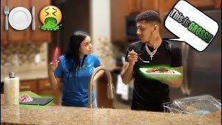 """""""Your Food Is Disgusting"""" PRANK On Girlfriend 😂 (Must SEE)"""