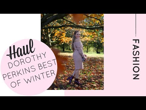HUGE Dorothy Perkins Winter Haul | Katie KALANCHOE