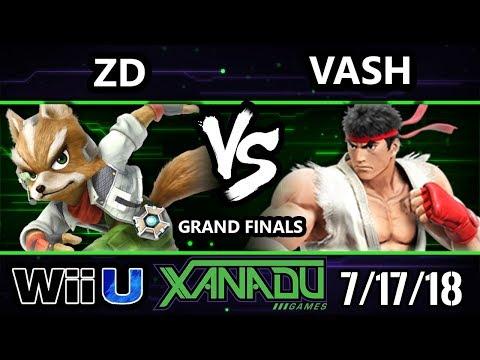 S@X 259 Smash 4 - ZD (Dr. Mario) Vs. Vash [L] (Ryu, Dr. Mario) - Wii U Grand Finals