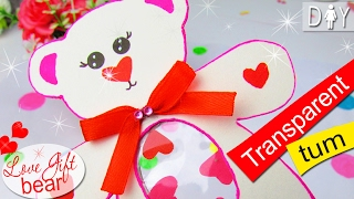 DIY VALENTINES CARD BEAR
