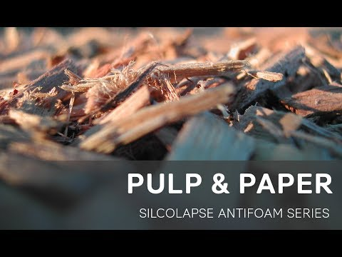 Silicone Antifoams for Pulp & Paper