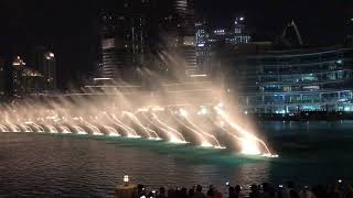 تولهت انا لصوتك Dubai water show