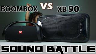 SONY GTK-XB90 VS JBL BOOMBOX :Sound Battle