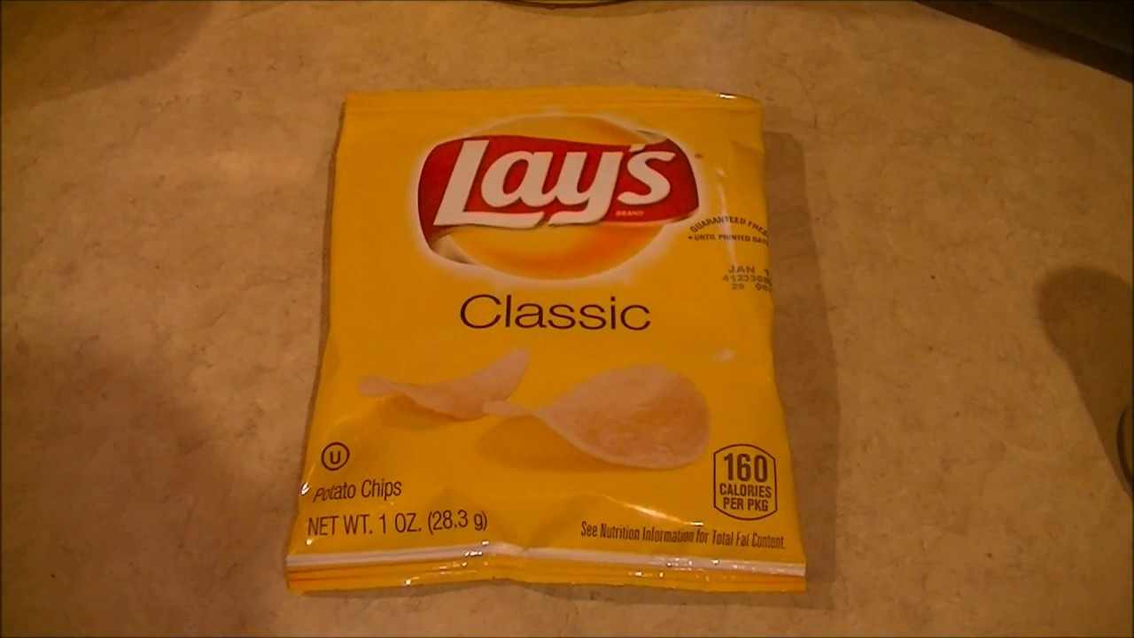Lay S Potato Chip Bag With Only One