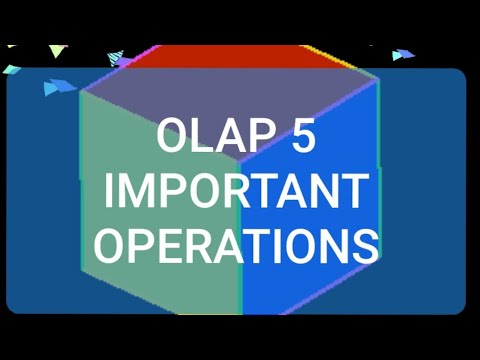 OLAP 5 Important Operations Important In Exams